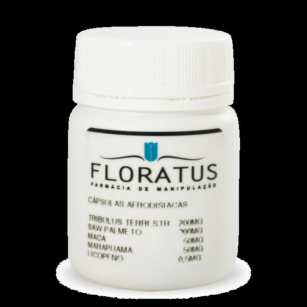 Capsulas Afrodisíacas Floratus Farmácia de Manipulação