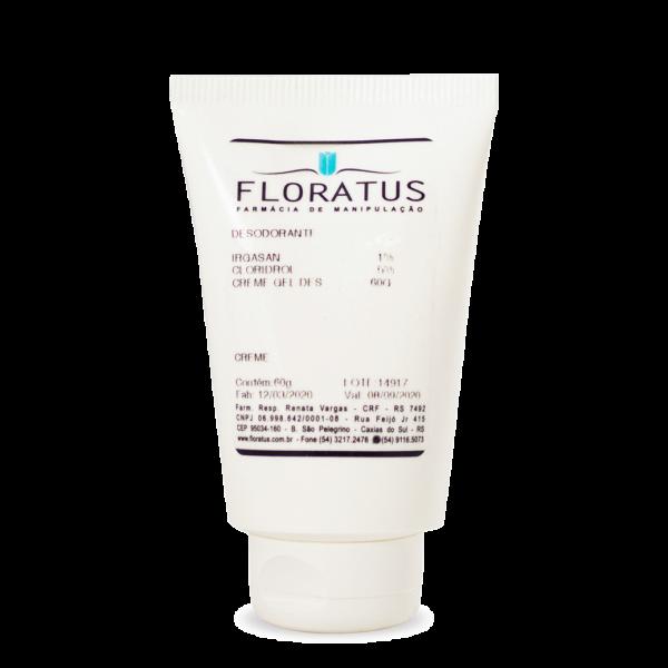 Desodorante Creme Floratus Farmácia de Manipulação