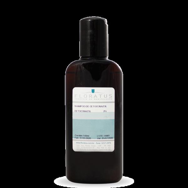 shampoo de cetoconazol floratus farmácia de manipulação