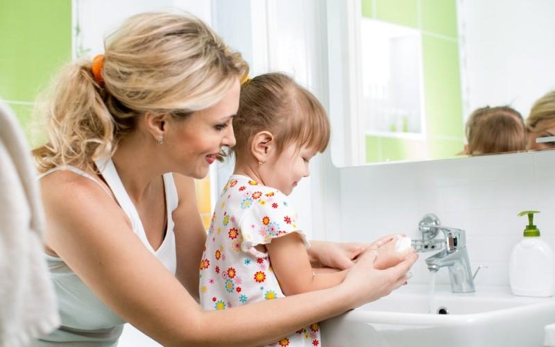 Higiene das crianças